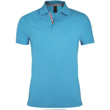 textil Hombre Polos manga corta Sols PATRIOT FASHION MEN Azul
