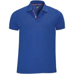 textil Hombre polos manga corta Sols PATRIOT FASHION MEN Azul