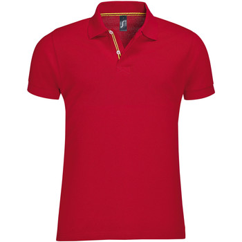 textil Hombre Polos manga corta Sols PATRIOT FASHION MEN Rojo