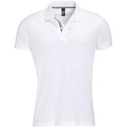 textil Hombre polos manga corta Sols PATRIOT FASHION MEN Blanco