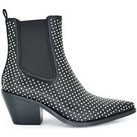 Zapatos Mujer Botines Exé Shoes BOTINES COWBOY REMACHES T1208-K1716