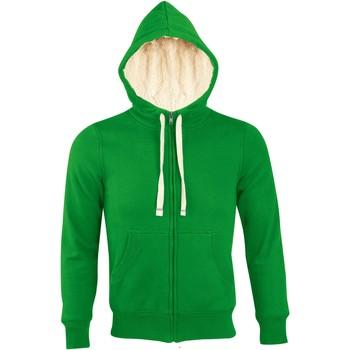textil Hombre sudaderas Sols SHERPA WINTER MEN Verde