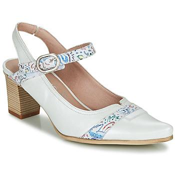 Zapatos Mujer Zapatos de tacón Dorking LEA Blanco
