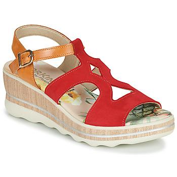 Zapatos Mujer Sandalias Dorking YAP Rojo