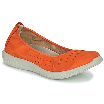 Zapatos Mujer Bailarinas-manoletinas Dorking SILVER Naranja