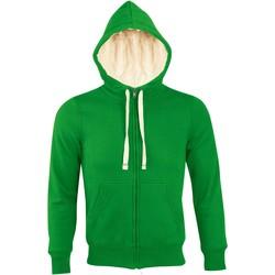 textil Mujer sudaderas Sols SHERPA WINTER WOMEN Verde