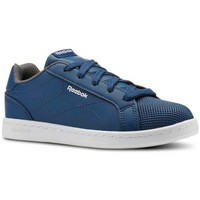 Zapatos Niño Fitness / Training Reebok Sport ROYAL COMPLETE CLEAN AZUL BLANCO NIÑO CN4805 AZUL BLANCO