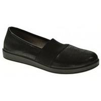 Zapatos Mujer Mocasín Momem 00364 Negro