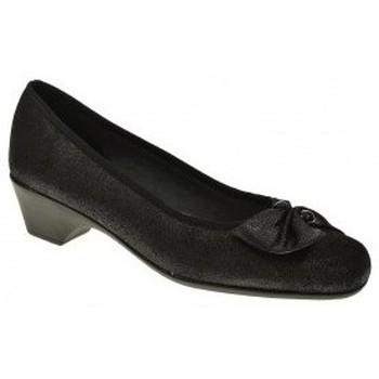 Zapatos Mujer Zapatos de tacón Duendy MANOLETINAS  NEGRO Negro