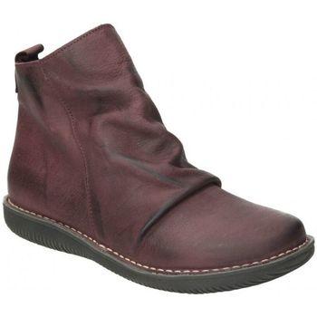 Zapatos Mujer Botas de caña baja Chacal Botines  4802 moda joven rojo rouge