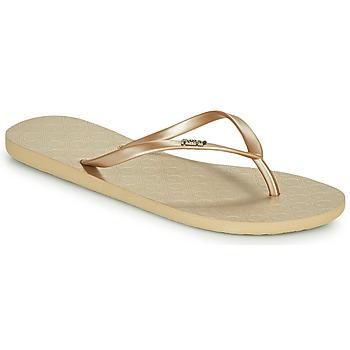 Zapatos Mujer Chanclas Roxy VIVA V Oro