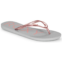 Zapatos Mujer Chanclas Roxy VIVA SPARKLE Gris / Rosa