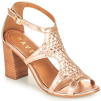 Zapatos Mujer Sandalias Ravel COREEN Rosa / Oro