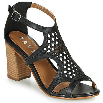Zapatos Mujer Sandalias Ravel COREEN Negro