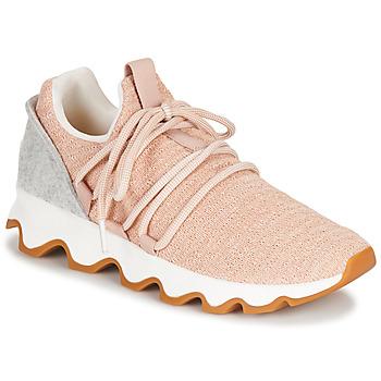 Zapatos Mujer Zapatillas bajas Sorel KINETIC LACE Rosa