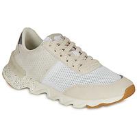 Zapatos Mujer Zapatillas bajas Sorel KINETIC LITE LACE Blanco