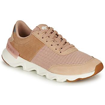 Zapatos Mujer Zapatillas bajas Sorel KINETIC LITE LACE Beige / Rosa