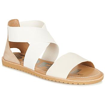 Zapatos Mujer Sandalias Sorel ELLA SANDAL Blanco / Beige