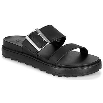 Zapatos Mujer Sandalias Sorel ROAMING BUCKLE SLIDE Negro