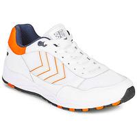 Zapatos Hombre Zapatillas bajas Hummel 3-S SPORT Blanco / Naranja
