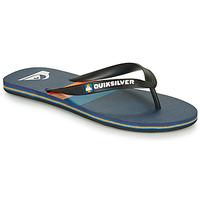 Zapatos Hombre Chanclas Quiksilver MOLOKAI SEASONS Negro / Azul / Naranja
