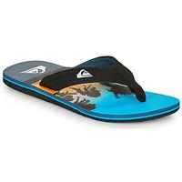 Zapatos Hombre Chanclas Quiksilver MOLOKAI LAYBACK Azul / Negro