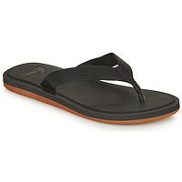 Zapatos Hombre Chanclas Quiksilver MOLOKAI NUBUCK II Negro