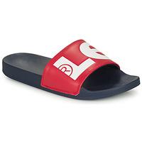 Zapatos Hombre Chanclas Levi's JUNE L Azul / Rojo