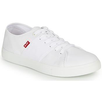 Zapatos Hombre Zapatillas bajas Levi's PILLSBURY Blanco