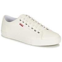 Zapatos Hombre Zapatillas bajas Levi's WOODWARD Blanco