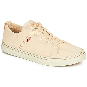 Zapatos Hombre Zapatillas bajas Levi's SHERWOOD LOW Beige
