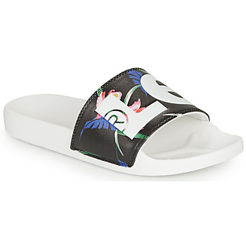 Zapatos Mujer Chanclas Levi's JUNE L S Negro / Blanco