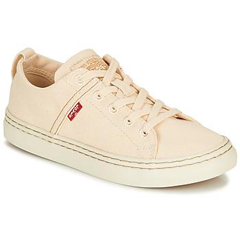 Zapatos Mujer Zapatillas bajas Levi's SHERWOOD S LOW Beige