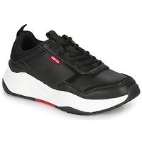 Zapatos Mujer Zapatillas bajas Levi's WEST Negro