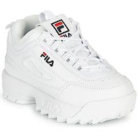 Zapatos Niños Zapatillas bajas Fila DISRUPTOR INFANTS Blanco