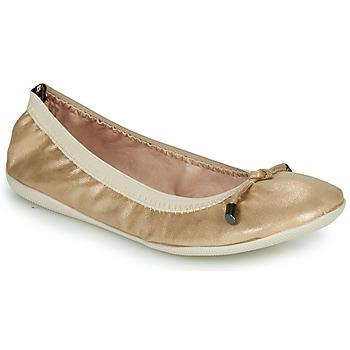 Zapatos Mujer Bailarinas-manoletinas Les Petites Bombes AVA Oro