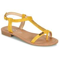 Zapatos Mujer Sandalias Les Petites Bombes EMILIE Mostaza