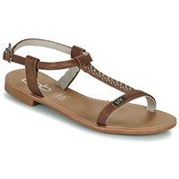 Zapatos Mujer Sandalias Les Petites Bombes EMILIE Camel