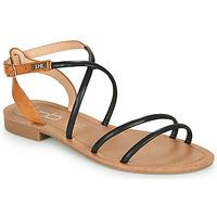 Zapatos Mujer Sandalias Les Petites Bombes EDEN Negro