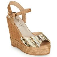 Zapatos Mujer Sandalias Les Petites Bombes PAOLA Beige