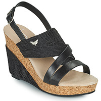 Zapatos Mujer Sandalias Les Petites Bombes MELINE Negro