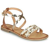 Zapatos Mujer Sandalias Les Petites Bombes AGATHE Oro