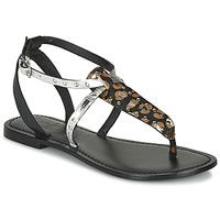 Zapatos Mujer Sandalias Les Petites Bombes ALIX Negro / Plata