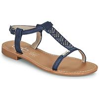 Zapatos Mujer Sandalias Les Petites Bombes EMILIE Marino