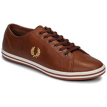Zapatos Hombre Zapatillas bajas Fred Perry KINGSTON LEATHER Marrón