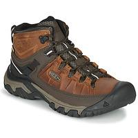 Zapatos Hombre Senderismo Keen TARGHEE III MID WP Marrón
