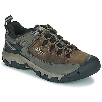 Zapatos Hombre Senderismo Keen TARGHEE III WP Marrón