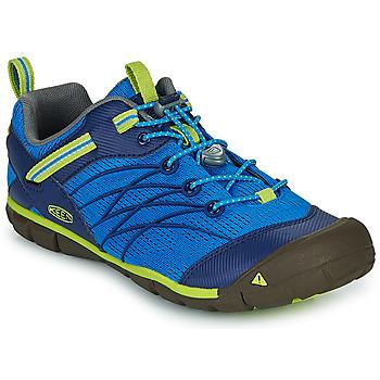 Zapatos Niño Sandalias de deporte Keen CHANDLER CNX Azul / Verde