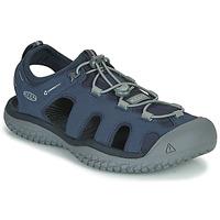 Zapatos Hombre Sandalias de deporte Keen SOLR SANDAL Azul / Gris