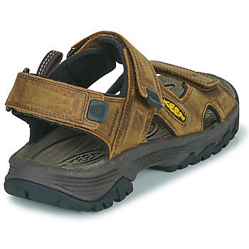 Zapatos Hombre Sandalias de deporte Keen TARGHEE III OPEN TOE SANDAL Marrón